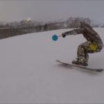 パパスキーヤーの挑戦「モノスキーが滑れるようになるとこんなに楽しいとは」