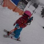 パパスキーヤーが教えるだれでもできるスキーメソッド「①立ってるだけで100倍上手く見えるスキーの基本姿勢」