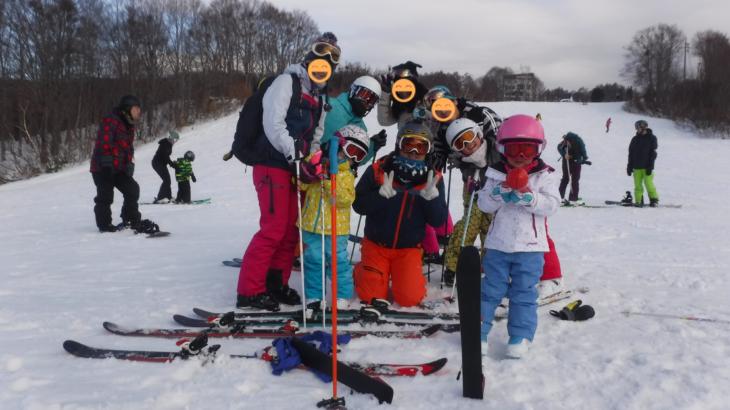 パパスキーヤーのスキーレポート「18/12/22 野沢温泉スキー場でおいしいゲレ食と異国情緒を堪能」