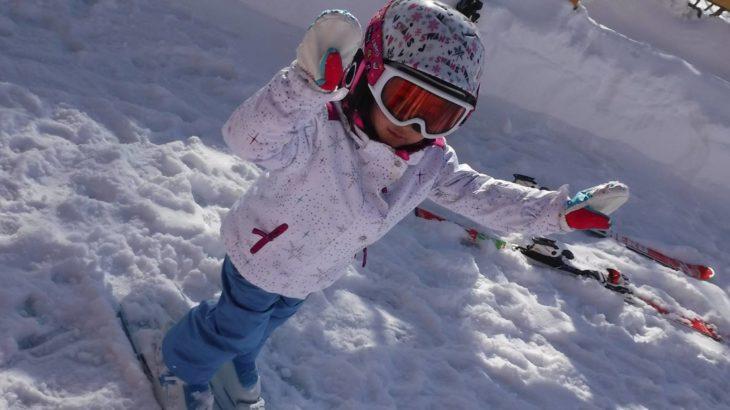 パパスキーヤーの子供スキー教室「初級編➁ゲレンデデビューの最初の一歩は平らなところから」