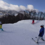 パパスキーヤーのスキーレポート「19/1/13-14 子供たち大興奮!!志賀高原で緩斜面でいけちゃう大冒険ルート」