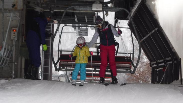 パパスキーヤーの子供スキー教室「⑥リフトの乗せ方・降ろし方」