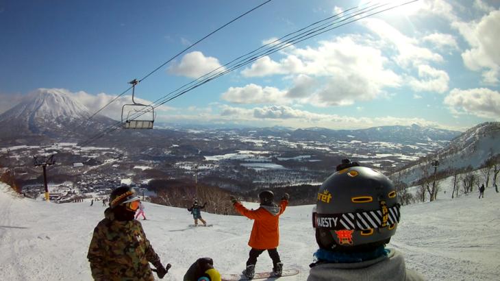 パパスキーヤーのスキーレポート「19/1/25-27 やっぱりニセコはすごい!!を感じた3日間 グランヒラフ編」