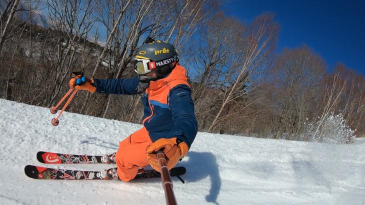 パパスキーヤーが教える誰でもできるスキーメソッド「⑪板を振るだけの滑りはもう卒業!!かっこいいショートターン(小回り)の滑り方」