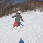 パパスキーヤーの子供スキー教室「中級編④低速で深いショートターンができるようになるための練習方法」