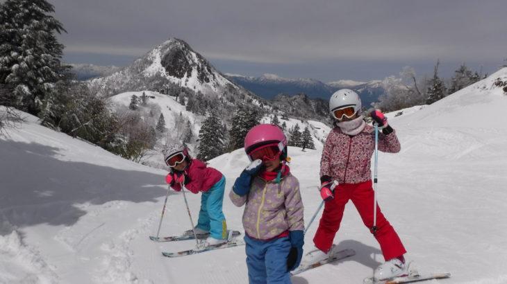 パパスキーヤーのスキーレポート「19/4/28 季節外れの寒波翌日のGW熊の湯・横手山で18/19シーズンの滑り納め」