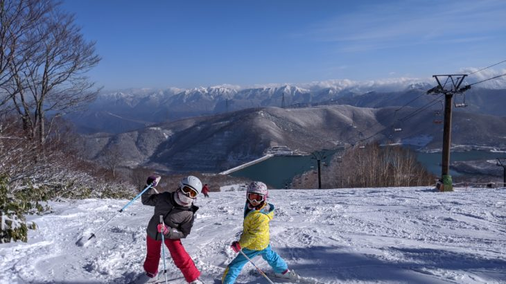 パパスキーヤーのスキーログ「19/12/21-22 雪不足の救いの神 かぐら様で家族のシーズンイン」