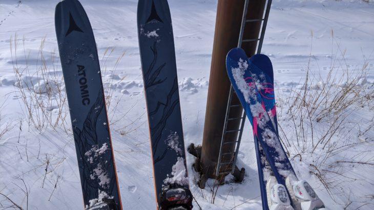 パパスキーヤーのスキー選び「Atomic BENT CHETLER 100 19/20の使用開始!!」