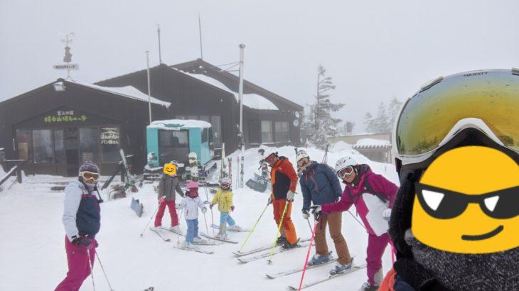 パパスキーヤーのスキーログ「19/12/30 年末の混雑とは無縁の熊の湯・横手で滑り納め」