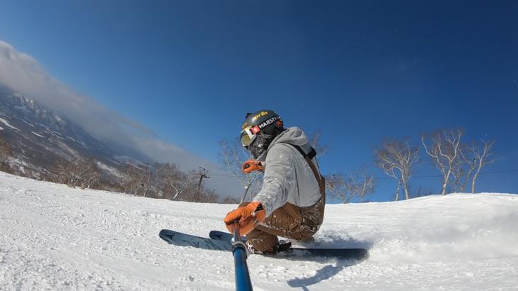 パパスキーヤーが教える誰でもできるスキーメソッド「⑯あれだけ邪魔だった内脚がウソみたいにたためるたった1つのコツ」