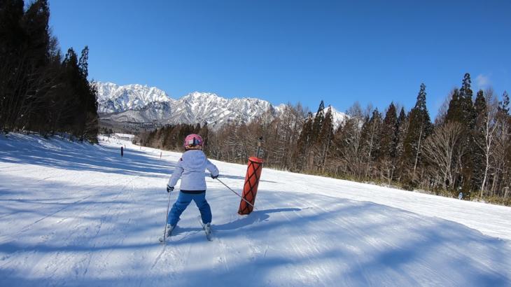 パパスキーヤーのスキーログ「20/2/10-11 練習にぴったりの戸隠で子供たちがモリモリ上達②」