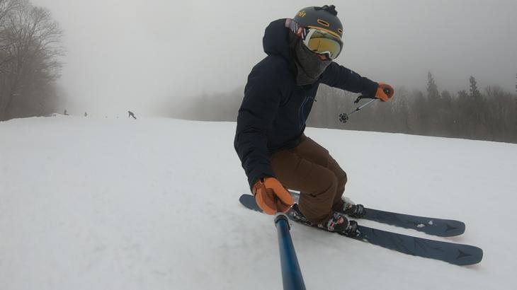 パパスキーヤーが教える誰でもできるスキーメソッド「⑱バエる谷回りはターン後半の準備とターン前半の間(ま)で作る」