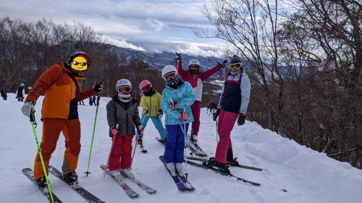 パパスキーヤーのスキーログ「20/12/30 尾瀬岩鞍で毎年恒例3世代スキー」